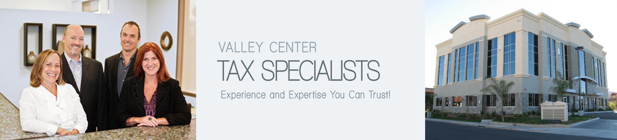 Valley Center Tax Preparation